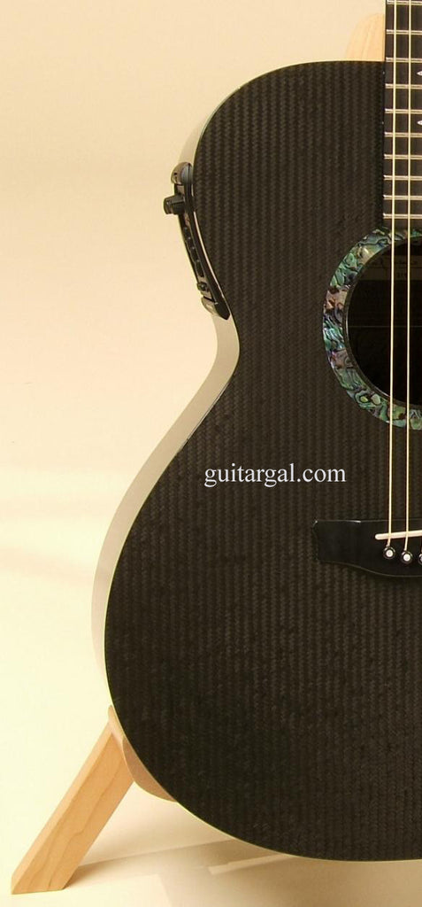 RainSong Graphite Guitars Guitar: Black Graphite WS1000