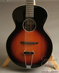Flammang Guitar: Used Tobacco Sunburst EL35-TS