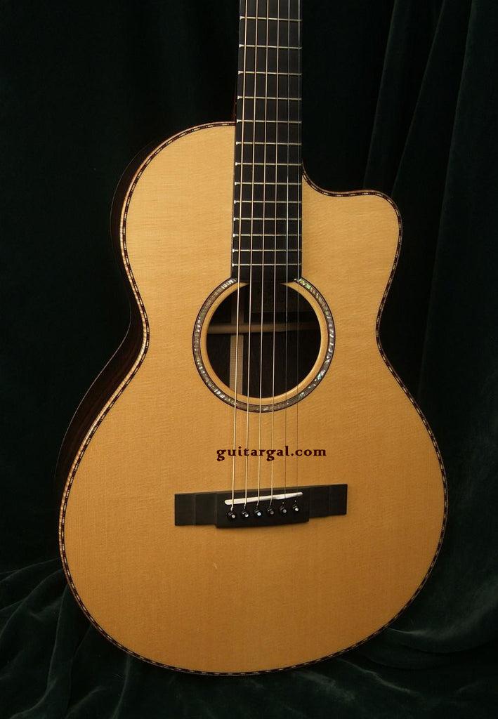 Kevin Ryan Guitar: Used Brazilian Rosewood Abbey Parlor