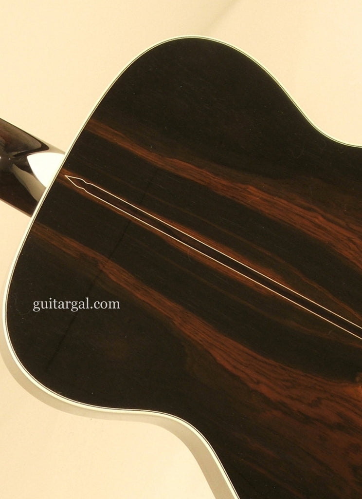 Franklin Guitar Co Guitar: Black Brazilian Rosewood OM