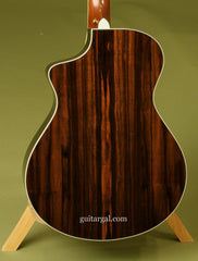 Breedlove C15e custom guitar back