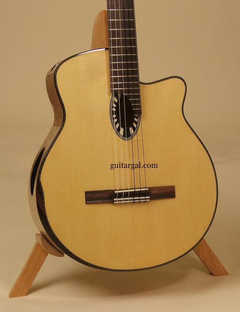 Beardsell Guitar: BirdsEye Maple 9C