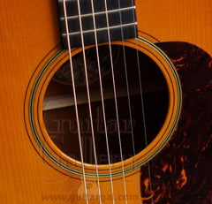 Collings D1ASB varnish guitar rosette