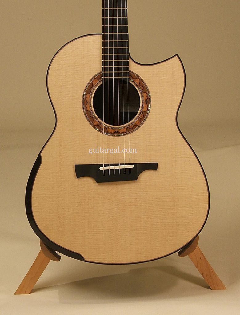 Greenfield Guitar: African Blackwood G2