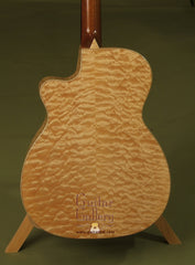 Webber Guitar: Quilted Maple OM