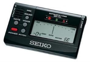Seiko Accessories: Black SAT 101 Guitar Tuner