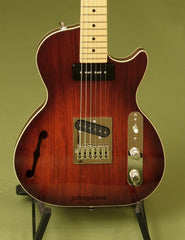 St. Blues Guitar: Walnut Burst 61 South