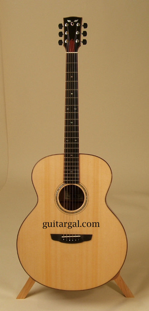 Goodall Guitar: Used Red Eucalyptus Baritone