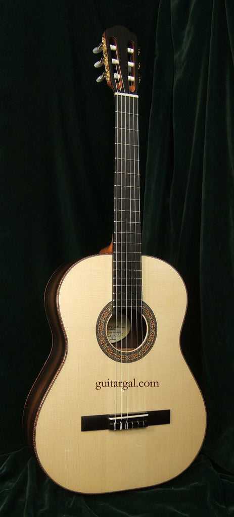 Langejans Guitar: Old Growth Brazilian R. BR-C Classical