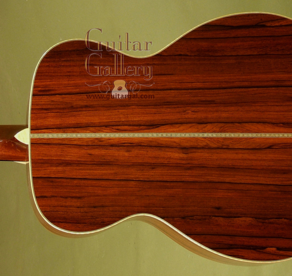Franklin Guitar: Used Madagascar Rosewood OM