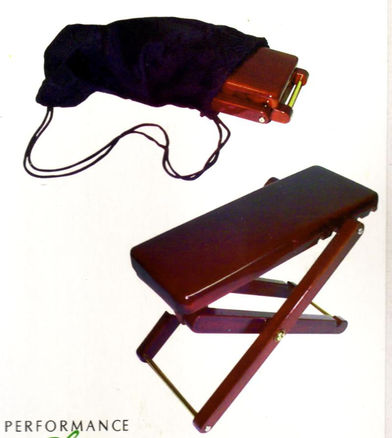 Performance Plus Accessories: Mahogany Foot Rest