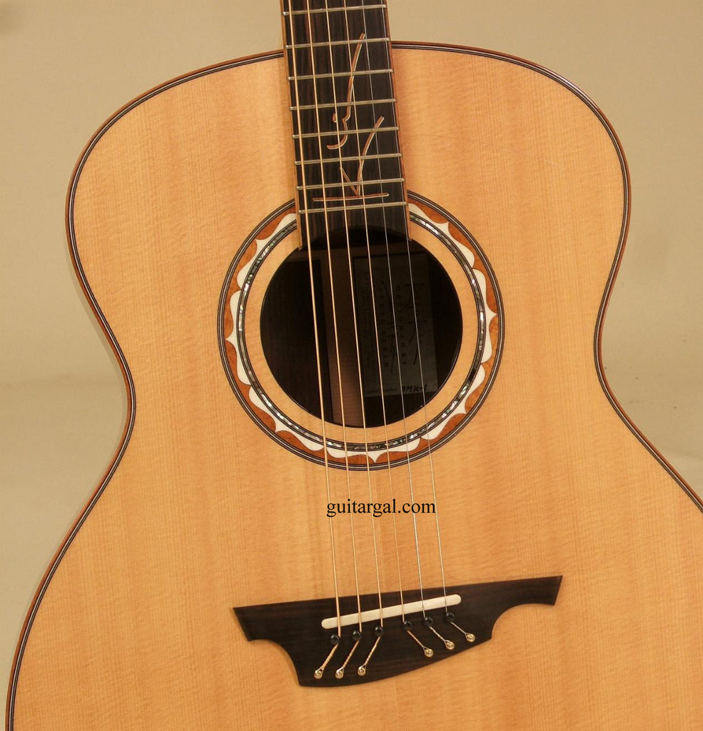 Kiso Klein Guitar: Indian Rosewood OMK-1