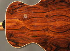 Zimnicki guitar with cocobolo back