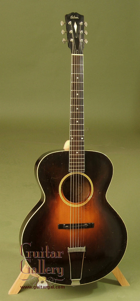 Vintage Gibson Guitar 1930 S Sunburst L 4 Sold Guitar