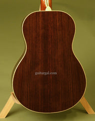 RS Muth guitar Indian rosewood back