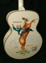 Roy Roger's Guitar painted back
