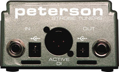 Peterson Accessories:  StroboStomp2 Tuner/DI