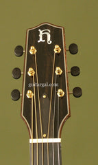 Hoffman guitar headstock
