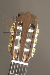 Marchione classical guitar headstock
