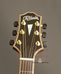 Ribbecke Guitar: Brazilian Rosewood Halfling Brazilian Pin Bridge