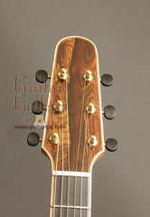 Zimnicki guitar headstock