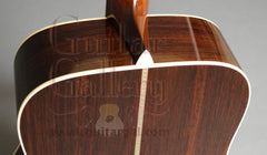 Collings D2HG guitar heel