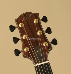 Ryan Nightingale Grand Soloist guitar headstock