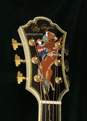 Rich & Taylor Guitar: Roy Rogers King of the Cowboys Art Guitar