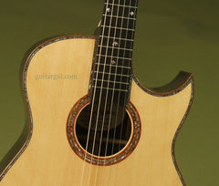 Langejans Guitar: Black Brazilian Rosewood Ltd Edition #10 of 10