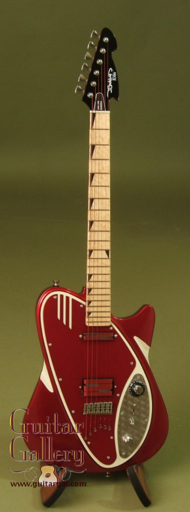 J Backlund Design Guitar Candy Apple Red Jbd 200 Guitar