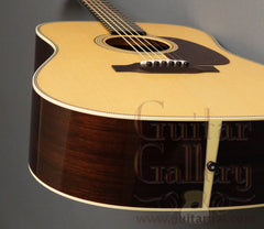 Collings D2HG guitar end
