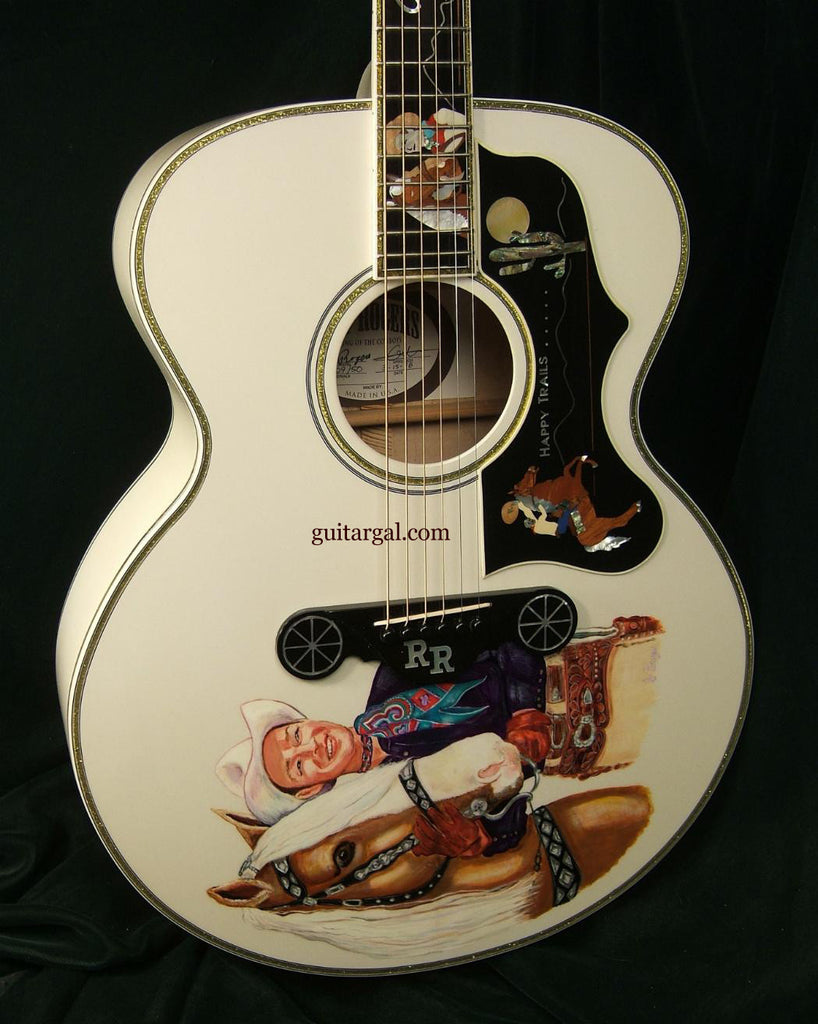 Roy Roger's Guitar painted front