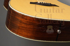 Taylor PS-10 guitar end
