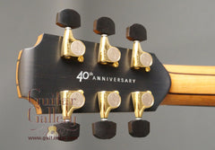 40th anniversary Lowden WL50 guitar headstock