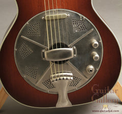 National Guitar: Used Mahogany El Trovador