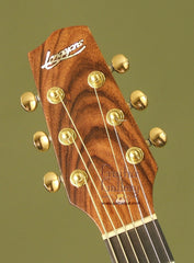 Langejans Guitar: Black Walnut W-6