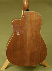 Huss & Dalton Custom CM guitar walnut back
