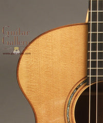 laurie williams 2005 flame ancient kauri kiwi guitar
