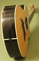 Breedlove C15e custom guitar tail