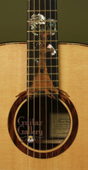 Hewett guitar with custom tree inlay