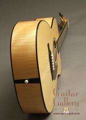 Bourgeois Guitar: Used Flame Maple Luthier's Choice Custom OM