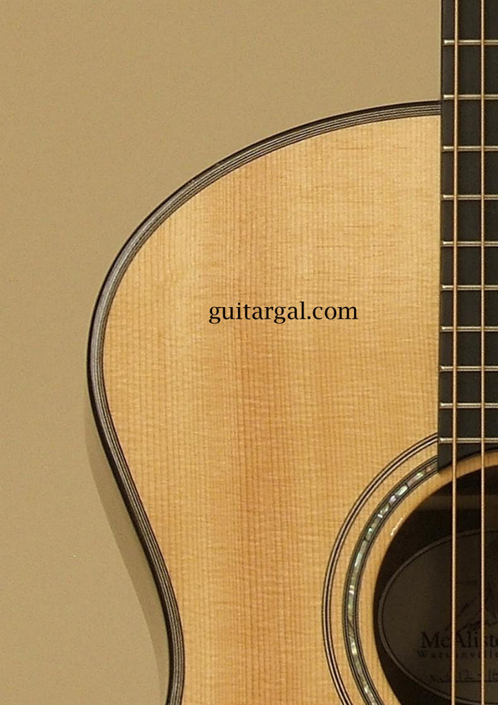 McAlister Guitar: Used Brazilian Rosewood C-12