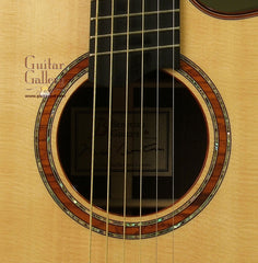 Beneteau Guitar: Used African Blackwood Model M Fan Fret