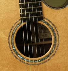 Kevin Ryan Guitar: Used Brazilian Rosewood Grand Cathedral Fingerstyle