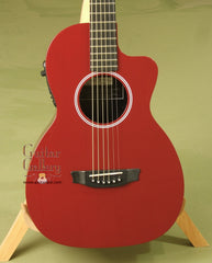 RainSong Graphite Guitars Guitar: Red P12R