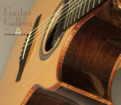 Charis Guitar: Used Indian Rosewood SJ cutaway