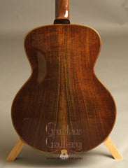 Thorell archtop with black walnut back