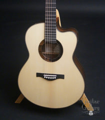 Peggy White OM Guitar Italian spruce top