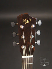 Peggy White Guitar headstock