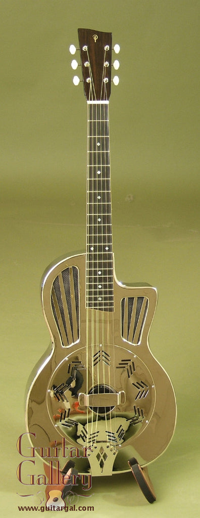 Phillips Guitar: German Silver Large Parlor